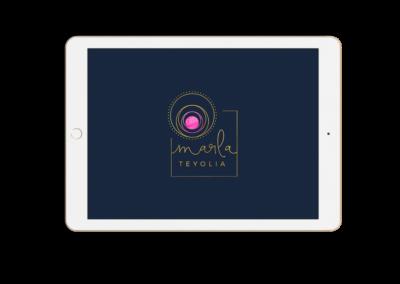 Marla Teyolia brand identity design - small business plan