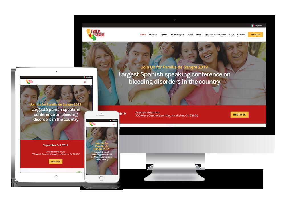 nonprofit website design