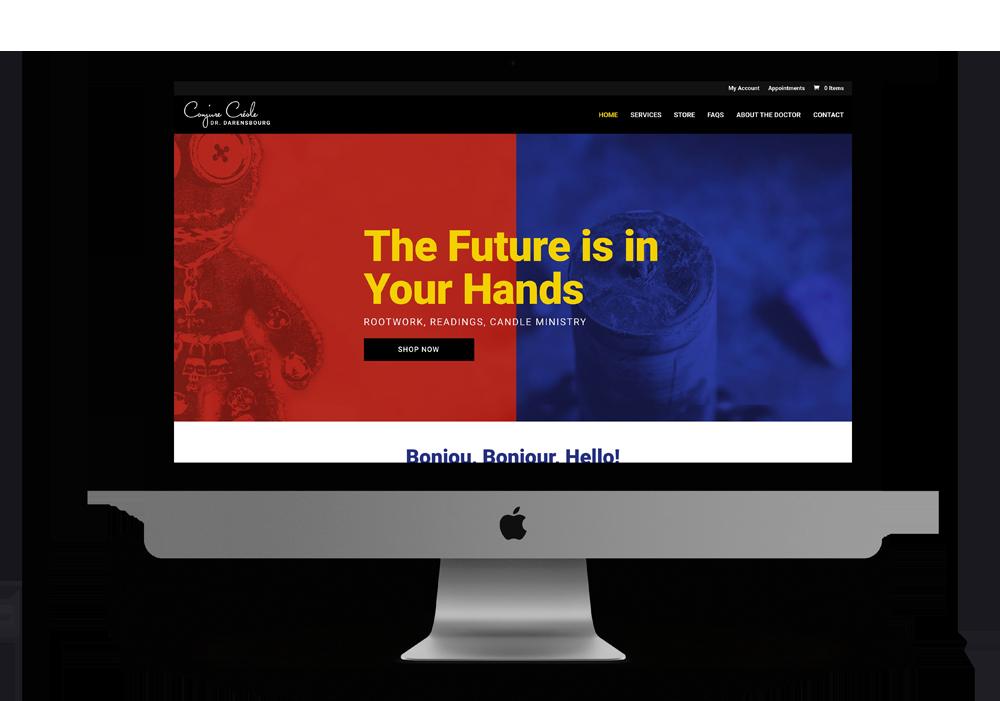 hoodoo website design